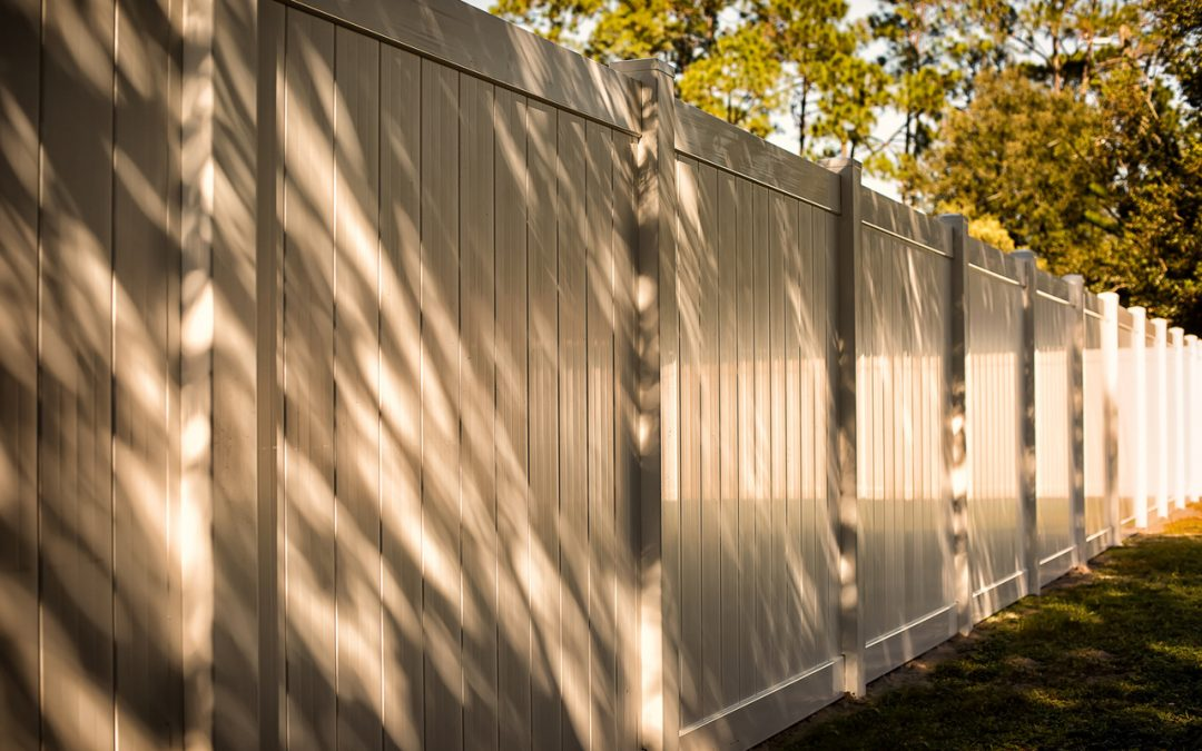 Tax Returns and a New Fence